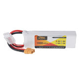 ZOP Power 3S 11.1V 1500mAh 25C Bateria XT60 Plug para Eachine Wizard X220 RC Racing Drone