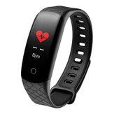 XANES® CB608 0.96 '' IPS Ekran Su Geçirmez Akıllı Saat Kan Basıncı Fitnes Spor Bilezik Mi Band