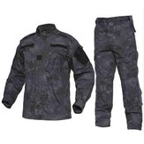 Chasse Hommes Tactical Jungle Cargo Combat Trainning Exercise Sets Suit