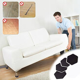 4Pcs Mobiliário Moving Sliders Mover Pads Moving Furniture Gliders Hardwood Floor Protectors Carpet Flooring Coaster Furniture Protector