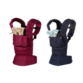 Portabebés de bebé recién nacido transpirable Comfort Sling Wrap Cotton Backpack