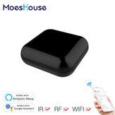 MoesHouse RF IR WiFi univerzális távirányító RF készülékek Tuya Smart Life App hangvezérlés az Alexa Google Home-on keresztül