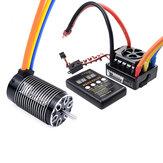 Surpass Hobby ROCKET 4068 Motor Sin escobillas 120A Sin escobillas ESC LED Tarjeta de programación Power Set para 1/8 RC Car Model Parts