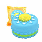 Kiibru Squishy Jumbo Rose Cake Licensed Slow Rising Original Packaging Collection Gift Decor Toy