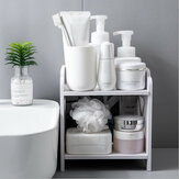 Multi-Function Makeup Organizer Cosmetic Holder Kitchen Office Storage Box Rack
