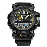 SANDA 732 modo LED display Men Watch 30M impermeabile Sport Orologio Digitale