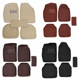 5Pcs/Set Car Floor Mats Front Rear Liner Waterproof Universal Vehicle Carpets