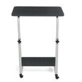 طاولة كمبيوتر محمول قابلة للتعديل قابلة للإزالة منضدة كمبيوتر محمول للمنزل والمكتب والدراسة وطاولة رفع بجانب السرير