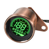 12V Motorcycle Speed Meter Odometer KM/H MPH Digital LCD Screen Universal