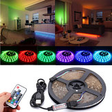 DC5V USB RGB 5050 Vandtæt 17 Nøgler Fjernbetjening LED Strip TV Back Lighting Kit