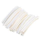 3300Pcs 33 Valores Cada Kit Resistor Resistor 0603 SMD 100 Kit Assorted 1Ohm-1M Ohm 1%