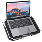 LCD Screen Notebook Cooler 6 Fan 6 Light Key Controlled RGB luminescence Computer Cooling Base Laptop Cooling Pads