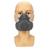 PM2.5 Gas Mask Automatic Filter Anti-fog Head-mounted Adjustable Filter Cotton