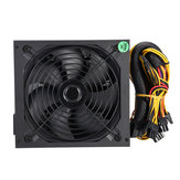 1200W Computer Power Supply Module PC PSU 24Pin SATA 6Pin 4Pin Quiet LED Fan 80 Plus