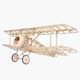 Mini Camel Fighter 380mm Spanwijdte Balsa Wood Laser Cut RC vliegtuigset