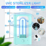 DC5V 253.6NM UV Germicidal Lamp UVC Sterilizer Light USB Radar Induction Disinfection Lighting for Home Clothes
