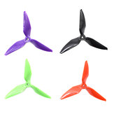 10 Pairs Eachine Wizard X220S RC Drone 5051 5x5.1 5 Inch 3-Blade Propellers Purple 5.0mm Mounting Hole