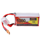ZOP Power 14.8V 1000mAh 100C 4S Lipo Battery XT30 Shendrones Squirt V2用プラグ