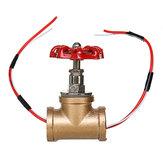 Vintage Steampunk 3/4 İnç Durdurma Vanası Tel Ile Su Borusu Lambaları Için Işık Anahtarı
