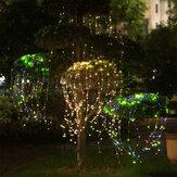 1M 2M Controle Remoto LED Ramo de árvore Lâmpada Fada Corda Luz Interior Ao Ar Livre Festa de Casamento Festa de Natal de Natal