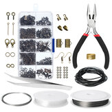 Wire Jewelry Making Starter Kit Sterling reparatie gereedschap Craft Supplies Set 3 Color
