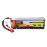 ZOP Power 11.1V 4000mAh 3S 30C Lipo-batterij T Plug voor JLB Racing J3 Speed auto