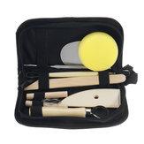 8 piezas de arcilla que esculpe la cera que talla la cerámica herramientas kit de modelado del polímero Cerámico
