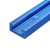 Drillpro Blue Oxidation 100-1220mm T-track T-slot Miter Track Jig T Screw Fixture Slot 19x9.5mm For Table Saw Router Table Woodworking Tool
