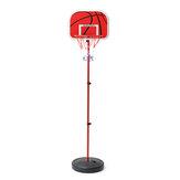 200CM Basketball Hoop Net Ring Adjustable Kit Kids Backboard Stand Game Toy Set