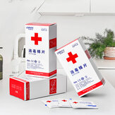 OPULA 50Pcs 75% Alcohol Disposable Disinfection Prep Swap Pads Antiseptic Skin Cleaning Wet Wipes Jewelry Mobile Phone Clean Wipe