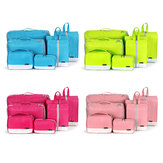 Polyester Home 7-piece Duffel Bag Travel Digital Storage Bag