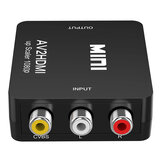 Mini Composite AV CVBS Video Adapter 720p 1080p RCA to HDMI Converter