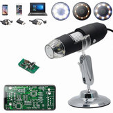 DANIU HD 2.0MP 1000X 3 EN 1 USB Microscope Android type-c Microscope numérique électronique 1920 * 1080P résolution pour Mac Android Windows Vista système