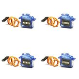 4 X SG50 0.8kg 5g Plastic Gear Digital Micro Servo For RC Airplane