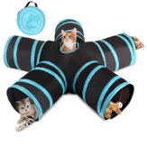 5-way Pet Cat Tunnel Play Toy Folding Funny Playhouse Tent Jachthond Benodigdheden