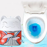 Automatic Toilet Bowl Cleaner Magic Flush Bottled Toilet Cleaner Toilet Tank Bathroom Foam Cleaning System Blue Bubble Deodorant