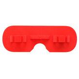 URUAV Güneşlik Hood Için DJI Dijital Gözlük Lens Koruyucu Kap ile Anten Delik Siyah / Kırmızı