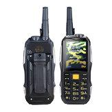 2.4インチ19800mah頑丈な電話デュアルSIM GSMトランシーバースタンバイ用スマートフォンFMラジオ