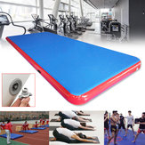 236.2 x 78.74 inch nflatable GYM Air Track Mat Airtrack Ginnastica Mat Tumbling Practice Pad allenamento con kit di riparazione