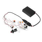 LED kit de iluminação de luz diy apenas para lego 10252 volkswagen swagen besouro modelo tijolos 21003