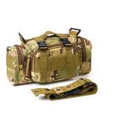 600D Oxford Kumaş Bel Çanta Su Geçirmez Taktik Kılıfı Omuz Çanta Çanta Outdoor Kampçılık Avcılık