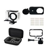 Zestaw ochronny Mini Sport Camera z silikonową osłoną / Wodoodporna powłoka / Osłona obiektywu dla Xiaomi Mijia