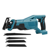 Cordless Electric Reciprocating Saw PVC Pipes Wood Metal Cutter Without Battery