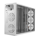 Crypto Coin Open Air Mining Frame Rig Graphics Case dla 6-8 GPU ETH BTC Ethereum