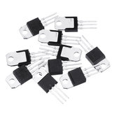 10 Stück BTA16-600B TO-220 BTA16-600 TO220 16-600B BTA16 600V 16A TRIACS Transistor