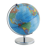 25cm Stand Rotating World Globe Map Kids Toy School Student Educational Gift