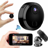 Mini HD 1080P Wireless WiFi IP Security Camera Night Vision Kontroler Camcorder Rumah