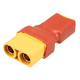 Amass Plug Conector XT60 Male Turn to XT90 Female Para RC ISDT 608 620 Charger