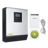 3KVA Solar Inverter 24V 220V Inverter Pure Sine Wave Built-in 50A PWM Solar Charge Controller Battery Charger