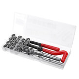 25pcs M12 Thread Repair Tool Kit for Restoring Damaged Threads Spanner Wrench Twist Drill Bit Kit